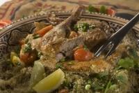 Marinovaná kuřecí stehna s kořením garam masala