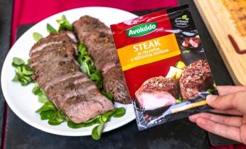 Hovězí steak s pepřem